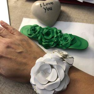 Leather bendable cuff bracelets! UNIQUE